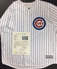 BILL MURRAY SIGNED AUTOGRAPHED CHICAGO CUBS BASEBALL JERSEY CADDYSHACK GHOST JSA