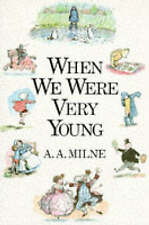 When we were very young. by A. A. Milne (Hardback)