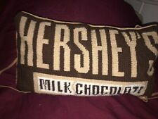 Hershey Bar Plush Pillow Travel - Neck With Stripes To Hang