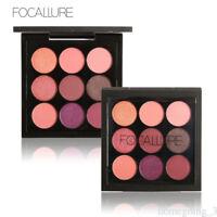 9 Colors Lady Shimmer Matte Eyeshadow Palette set Makeup Cosmetic Eye Shadow