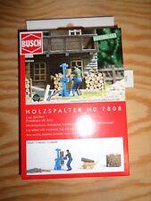 H0 BUSCH 7808 holzspalter. kit. emballage d'origine