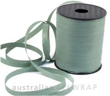 NEW_Textured Curling Ribbon DUSTY BLUE 10mm x 250mm