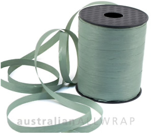 NEW Textured Curling Ribbon DUSTY BLUE 10mm x 250m (Metres)