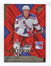 2007-08 UD SPx SPxtreme RC #X57 Marc Staal #/999 Rangers