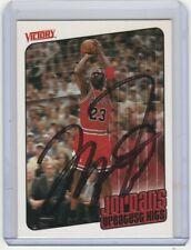 #23 Michael Jordan Autograph Basketball Card w/ *COA* Hand Signed Chicago Bulls