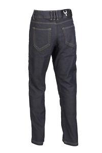 Bull-it Mens  Slate Black SR4 Motorcycle Motor Bike Jeans - Waist 44 - Leg 34