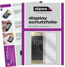 2x Sony Xperia XA1 Schutzfolie klar Displayschutzfolie Folie dipos Displayfolie