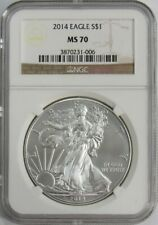 2014 Silver American Eagle NGC MS-70