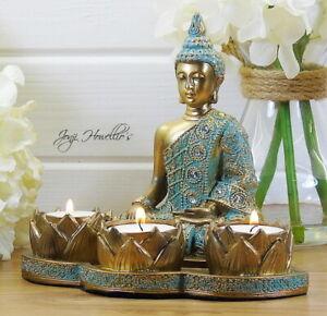 Resin Buddha Candle Tea Light Holders For Sale Ebay