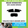 VOLVO V40 5 PUERTAS 2013 +20% Dark TRASERO