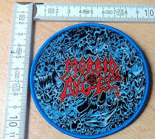 RARE Woven Morbid Angel Patch possessed Chuck Schuldiner Death Cannibal Corpse