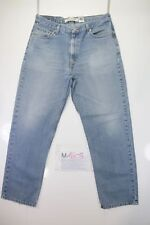 Levis 505 relaxed fit (Cod. M1608) tg50 W36 L32  jeans usato.
