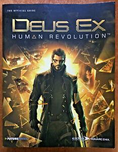 DEUS EX Human Revolution Official Game Strategy Guide Book Future Press Eidos