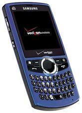 Samsung Saga SCH-i770 BLUE Verizon Wireless Cell Phone Extended keyboard/camera