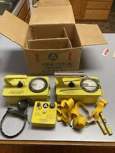 Civil Defense CD V-777 Radiation Detection Set w/ Original Box Geiger Counter