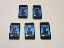 Lot of 5 Apple iPod touch 2nd Gen 8Gb Mp3 Players A1288 No Power Cords ~ Reset