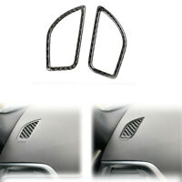 2PCS Carbon Fiber Side Air Duct Covers For BMW 12-16 1-Series F20 118i 120i 125i