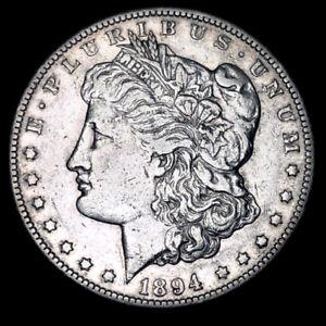 Sharp 1894-S $1 Morgan Silver Dollar San Francisco Mint Key Date