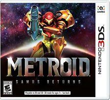 Metroid Samus Returns - Nintendo 3DS Brand New Factory Sealed