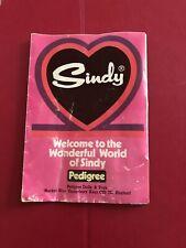 Pedigree Sindy Doll 1977 Product Leaflet