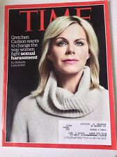 Time Magazine Gretchen Carlson Sexual Harassment October 31, 2016 050817nonrh