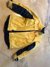 Tommy Hilfiger Yellow Coat Boys Size Large Reversible