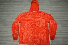 Vtg 80's Lacoste Izod full zip packable hooded windbreaker jacket Men's M