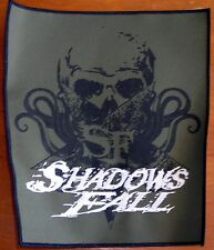 Shadows Fall Skull Back Patch  Licensed