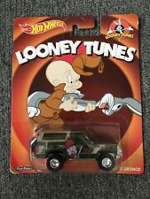 HOT WHEELS LOONEY TUNES '85 FORD BRONCO NEW ON CARD Lot 94