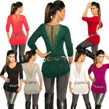 Alle Jahreszeiten Damen-Pullover & -Strickware mit V-Ausschnitt in Langgröße