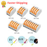 100pcs Wire Connectors Quick Universal Cable Compact Wiring Joint Accessories