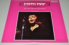 Edith Piaf - Ses plus belle Chansons - Album Vinyl Schallplatte LP