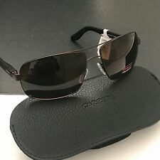 Carrera 8003 CA8003S 0RPU8 Men's rectangular Polarized Sunglasses Brown NWT Case