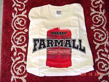 INTERNATIONAL HARVESTER VINTAGE TRACTORS FARMALL T-SHIRT, NEW, SIZE  2x