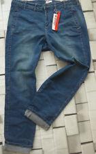 Sheego Jeans Damen Hose Gr. 46 bis 56 Long Größen Blue Blau (528) (579)