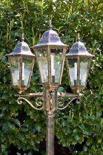 Gartenlaterne Kandelaber Außenlampe Stehlampe Stehleuchte Wegelampe Laterne Glas
