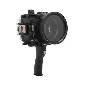 Salted Line Waterproof housing for Sony RX1xx series (Black) with Handle