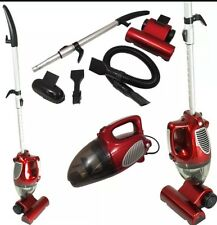 2 in 1 Upright & Hand Held Bagless Compact Lightweight Vacuum Cleaner Red