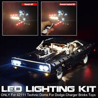 ONLY LED Light Lighting Kit For LEGO 42111 Technic Doms For Dodge Charger  ∫