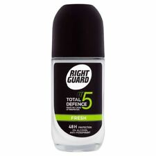 4x Right Guard Total Defence 5 Fresh Roll On Anti-Perspirant Deodorant 50ml