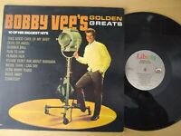 Bobby Vee's Golden Greats LP - Liberty Records, 1980