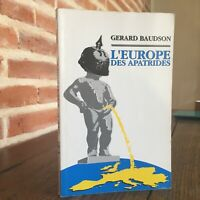 Dedica Gerard Baudson EUROPA Delle Apatrides Di Luynes 1994