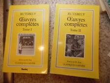 1989.Oeuvres complètes.2/2.Rutebeuf.Michel Zink (envoi)