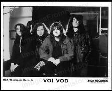8x10 Print Heavy Metal Band Voi Vod Mca Records #2016194