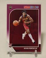 2019-20 NBA HOOPS Basketball Kevin Porter Jr Rookie Card #225 Purple Parallel SP