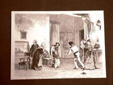 Teatro nel 1875 Una scena del Moroso de la Nona Commedia di Giacinto Gallina