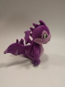 "Neopets Purple Scorchio Plushie  Dragon 6"" No Code Tag Plush stuffed Toy"