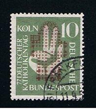GERMANIA 1 FRANCOBOLLO CATTOLICI 1956 usato