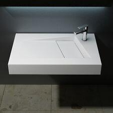 Design Gussmarmor Waschbecken Waschtisch Waschplatz Colossum 17 80 x 46 cm