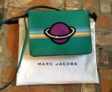 Marc Jacobs Saturn Flat Crossbody Bag-Saffiano Leather-New With Tags